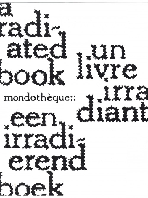 Mondotheque::a radiating book